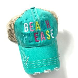 61a72b31 Women Distressed Trucker Hats on Poshmark